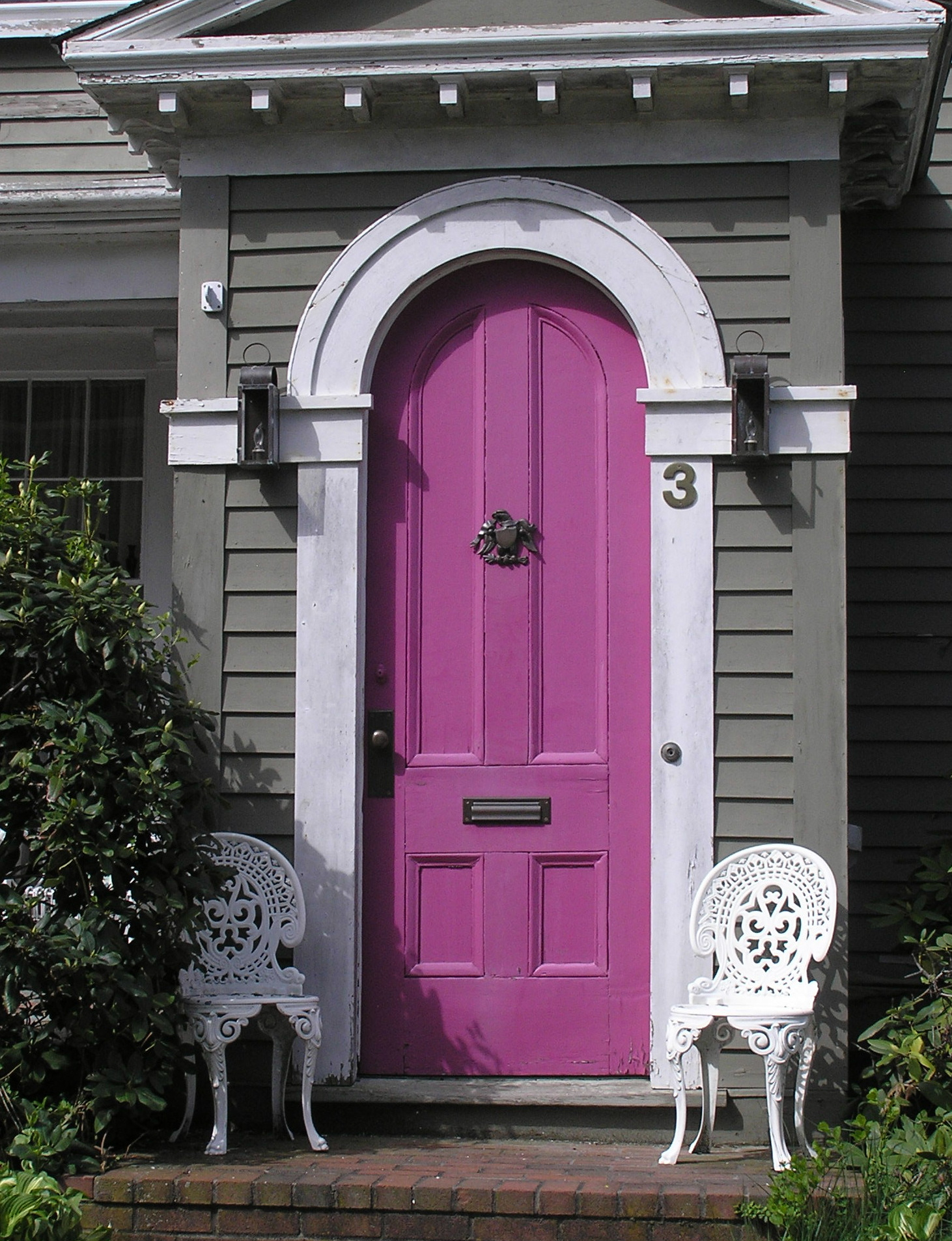 Purple doors on pinterest purple door purple front for House entrance doors