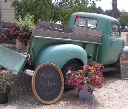 Vintage Bazaar Truck