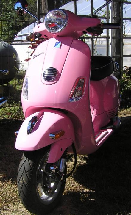 Vespa Pink