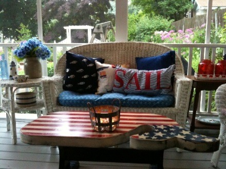 Summer Porch Country Design Home