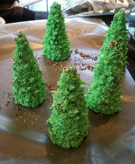 Cake Frosting Forest