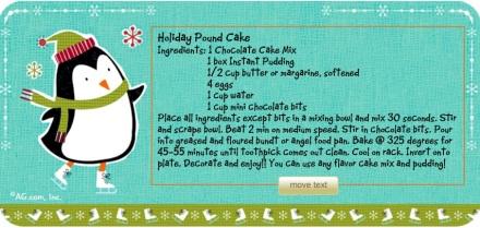 Cake Mix Recipe