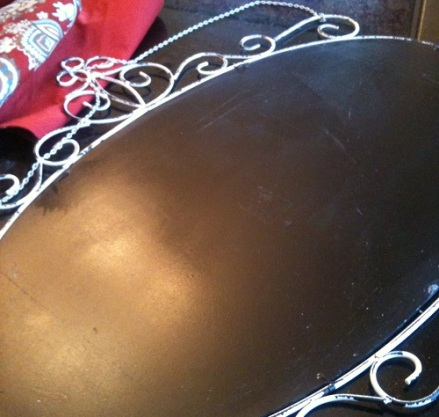 Chalkboard Paint finish