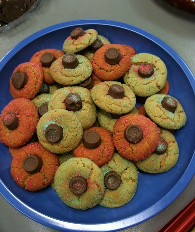 Cookies Red and Green Rolos