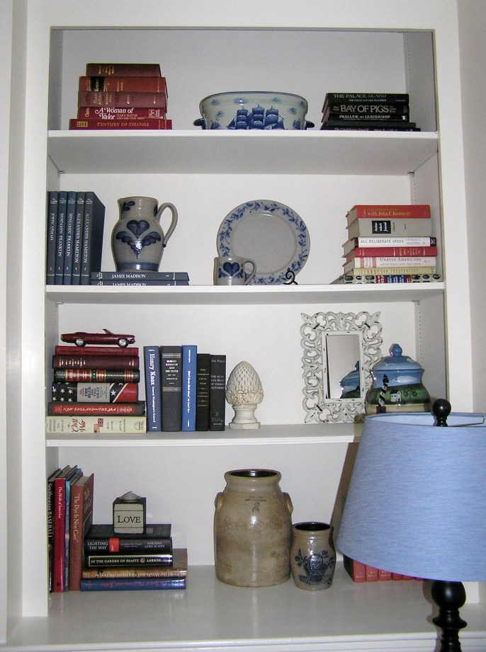 Bookshelves Edited