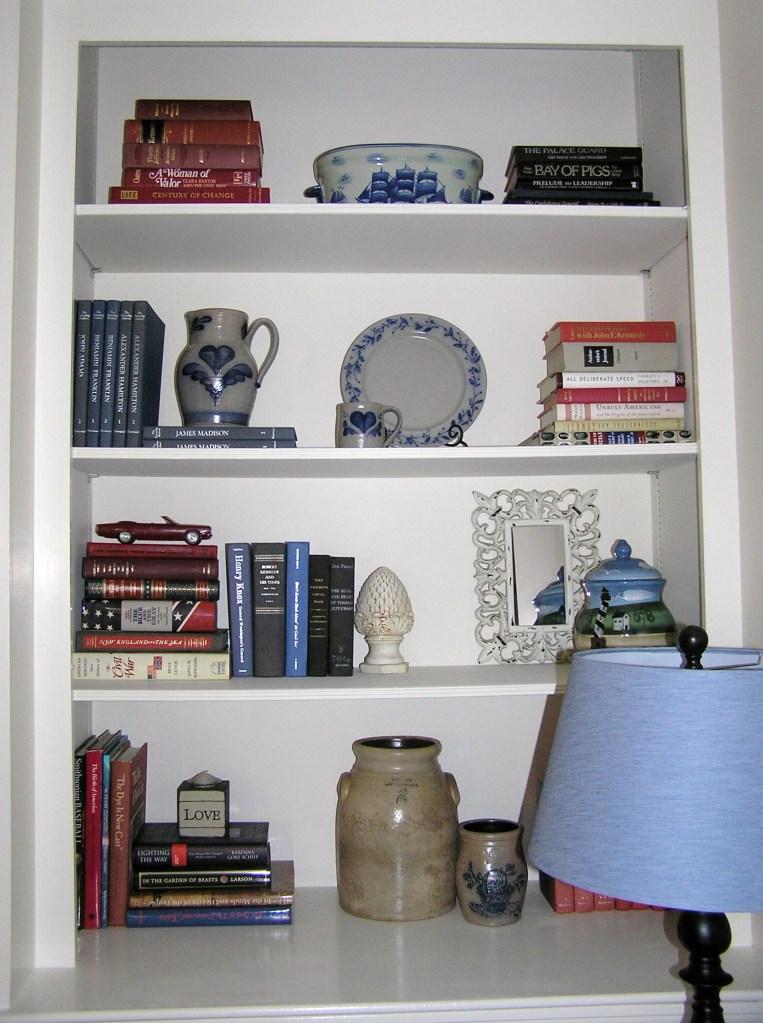 Bookshelves Edited