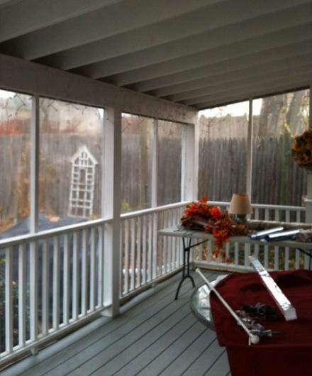 Glidden porch
