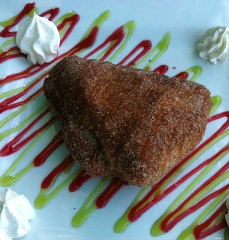 Deep Fried Key Lime Pie on Country Design Home