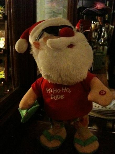 Holiday Surfin' Santa
