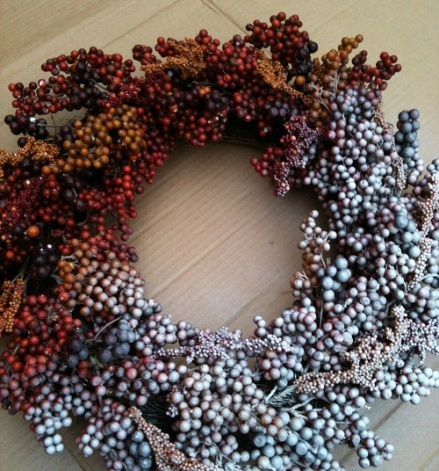 Wreath Painted
