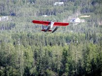 Alaskan Bi-Plane on Country Design Home