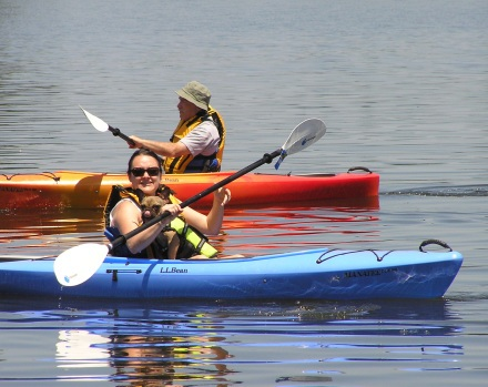 Kayaking- The Launch