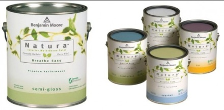 Going Green Natura Benjamin Moore