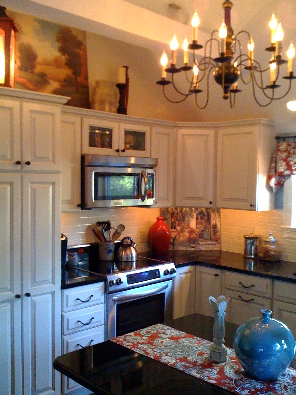 Country Design Home Kitchen Remodel