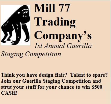 Mill 77 Guerilla Sign