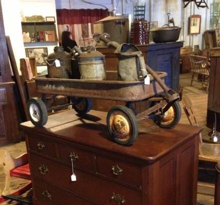 Mill Old Bean Wagon