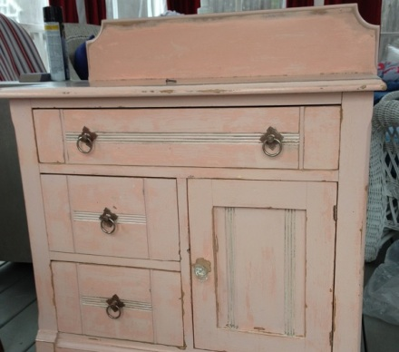 Market Pink Commode