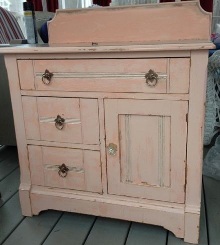 Pink Commode Finished