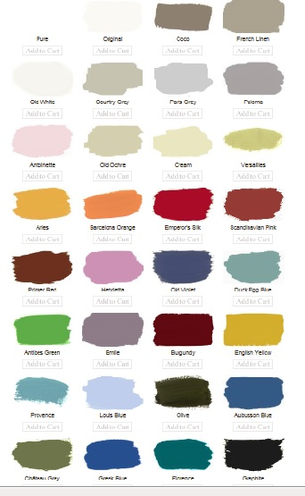 Annie Sloan Paint Colors