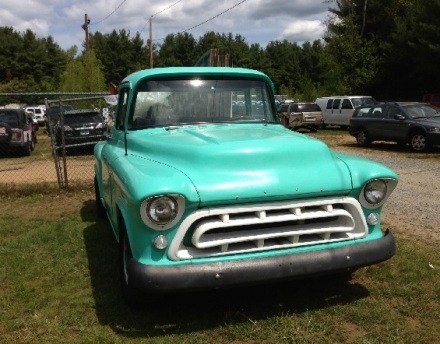 Brimfield Aqua Pickup Truck