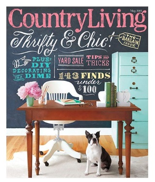 Chalkboard Country Living Magazine