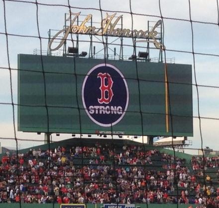 Ballgame Boston Strong Photo