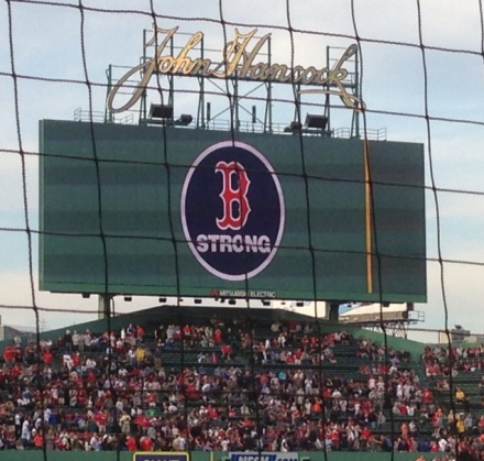 Ballgame Boston Strong Photo