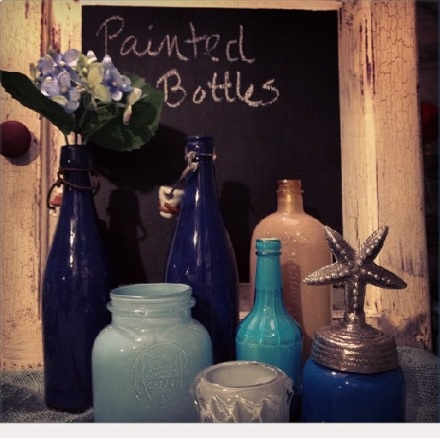 The Painted Bottle Project