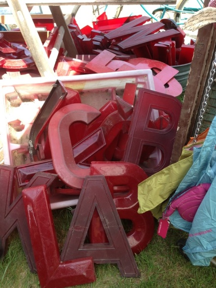 Brimfield Cash and Cari Letters