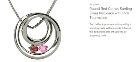 gemvara necklace