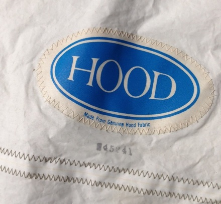 Hood sail