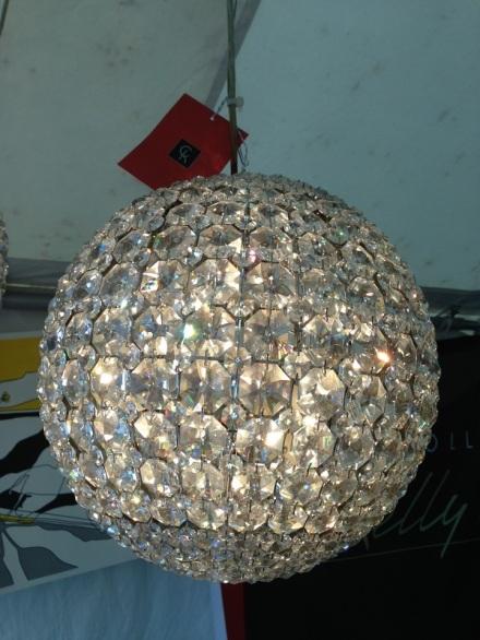 Brimfield Lighting Crystal Orb Chandelier