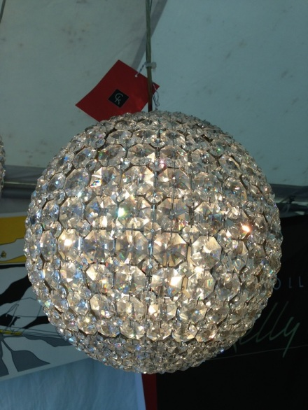Brimfield Lighting Crystal Orb Chandelier