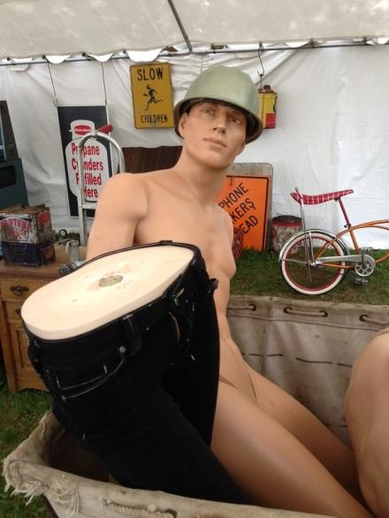 Brimfield Mannequin Army
