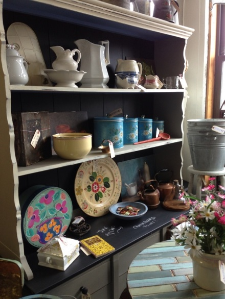 market cupboard closeup