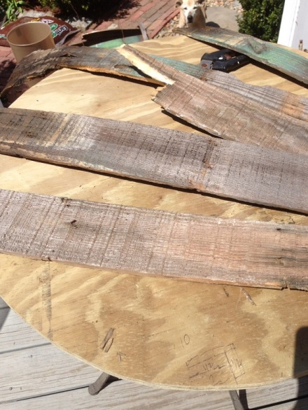 Old Barrel Staves