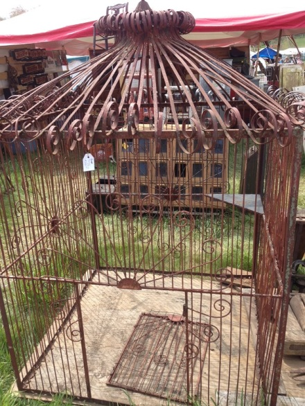 Brimfield Peacock Cage