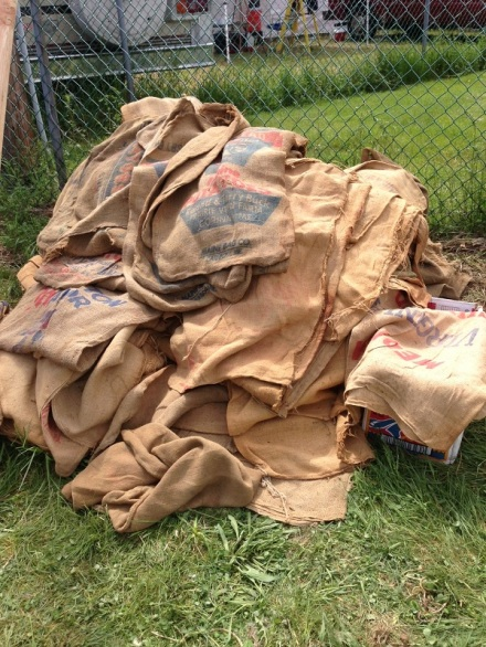 Brimfield Potato Sacks