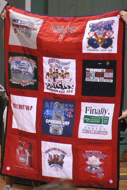 2004 Red Sox Quilt