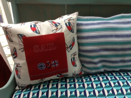 Bench Sail Pillow