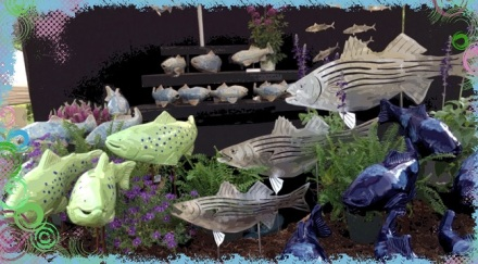 Fish in the Garden