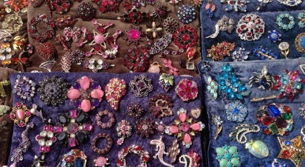 Flea Brooches