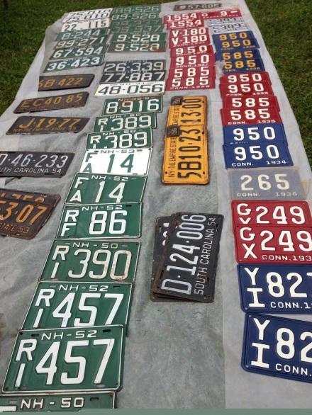 Flea License Plates