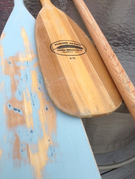 Paddles Before