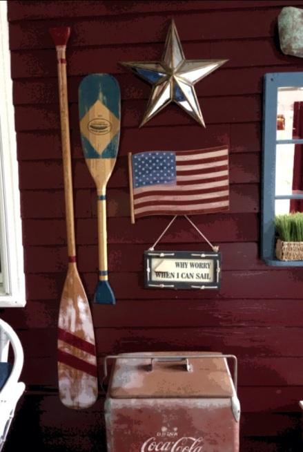 Vintage Porch Paddles