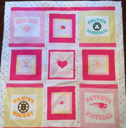 Red Sox Baby Quilt