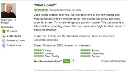 Inn Review One
