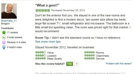 Inn Review One