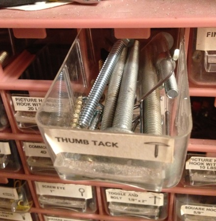 Thumb Tack Drawer