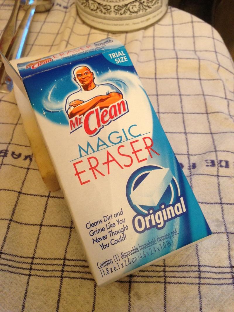 Copper Mr. Clean Magic Eraser